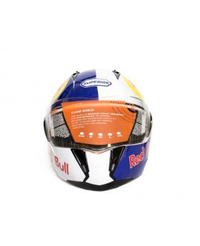Red Bull Motorcycle Helmet
