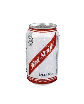 Red Stripe Larger Beer 330 ml 3 Pack