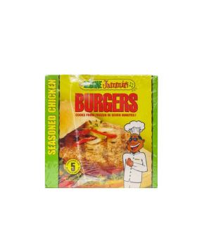 Reggae Jammin Seasoned Chicken Burger, 3pk/425g