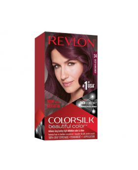 Revlon Colorsilk Beautiful Color, Permanent Hair Dye Deep Burgundy - 1 pack