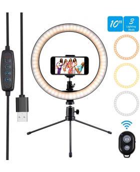 """10"""" LED Selfie Ring Light"""