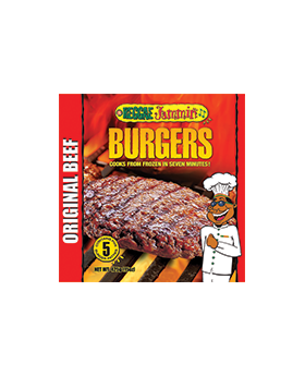 Reggae Jammin Seasoned Beef Burger, 3pk/425g