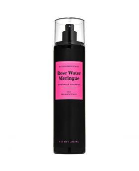 Bath and Body Works ROSE WATER MERINGUE Fine Fragrance Mist 8 Fl.Oz, 2020 Limited Edition