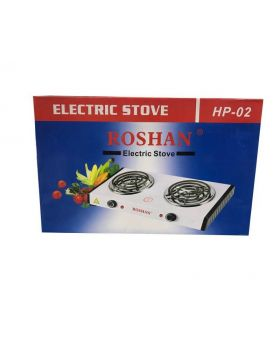 Roshan Electric 2 Burner Cook Top Table Top Hot Plate in the box