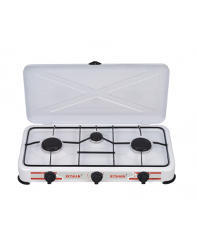 Roshan JNY - FN3 High Energy Efficient 3 Burner Table Top Gas Stove
