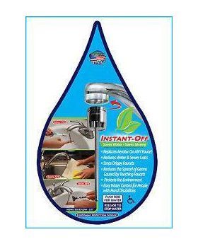 """Instant Off Water Saving Aerator Home 350-VS, 3.5"""""""
