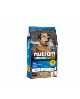 S6 Nutram Sound Balanced Wellness Adult Natural Dog Food