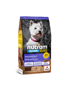 S7 Nutram Small Breed Adult 2kg