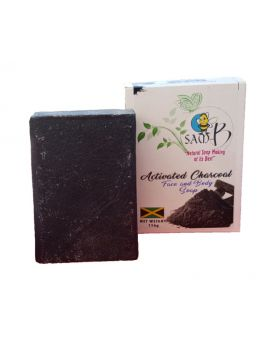 Sam-B Activated Charcoal Face, Hair and Body Soap