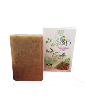 Sam-B Neem and Moringa Face, Hair and Body Soap