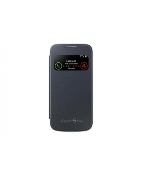 Front view of the Samsung Galaxy Mega Black Sview Cover