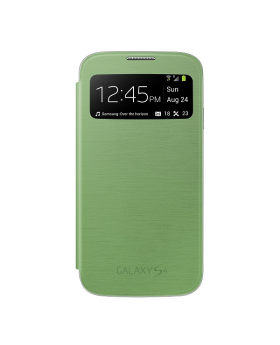Samsung Galaxy S4 Green Sview Cover closed