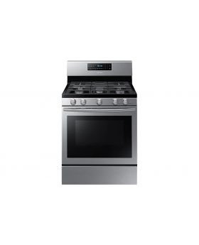 Samsung NX58N5605S 5.8 Cu.Ft. Fan Convection Gas Stove