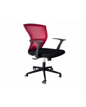 Venezia Veneto Mesh Back Chair GSA 028 (Red)