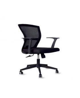 Venezia Veneto Mesh Back Chair GSA 028 (Black)