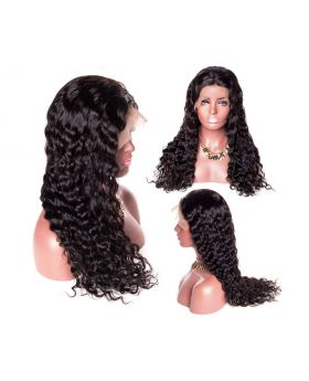 "Selena Glueless 100% Human Hair 12"" Lace Wig"