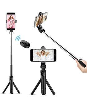 Selfie Stick Tripod Bluetooth