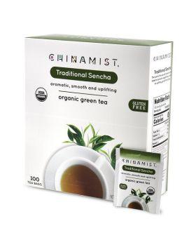 Traditional Sencha Organic Green Tea 100 Count