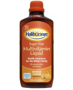 Seven Seas Haliborange Sugar Free Multivitamin Liquid 250 ml 2 Pack