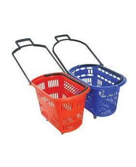 4 Wheels Shopping Baskets