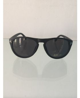 Black On Black Oversized Sunglasses