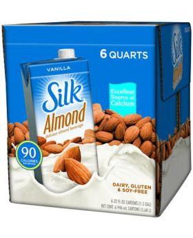 Silk Pure Almond Vanilla 32-Ounce