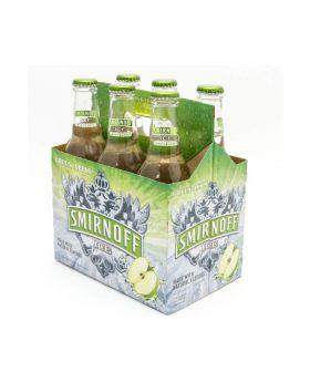 Smirnoff Ice Green Apple Bite 6 x 275ml Pack
