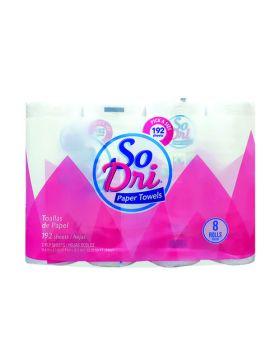So Dri Paper Towels 8x96 Sheets