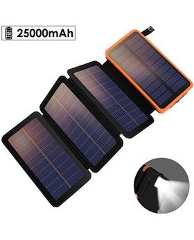 Solar Charger 25000 mAh Powerbank