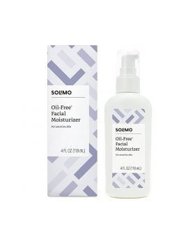 Solimo Oil-free Facial Moisturizer for Sensitive Skin
