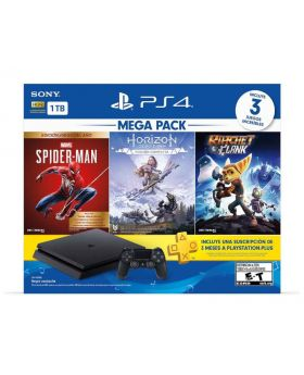 Sony PS4 Mega Pack Bundle Console