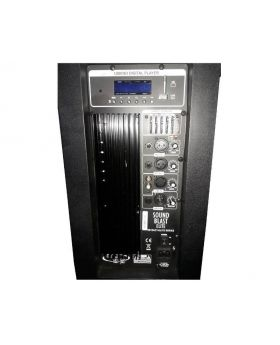Sound Blast Professional Sound System Elite Series - Ports & Display