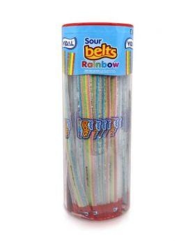 Sour Rainbow Belts 80 Pack