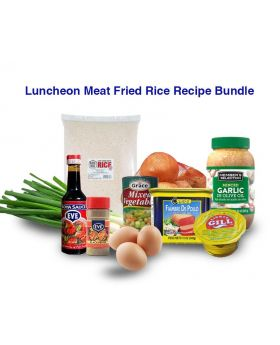 Spam/Luncheon Meat Fried Rice Recipe Bundle
