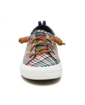 Sperry Women's Crest Vibe Washed Plaid Sneaker 8.5