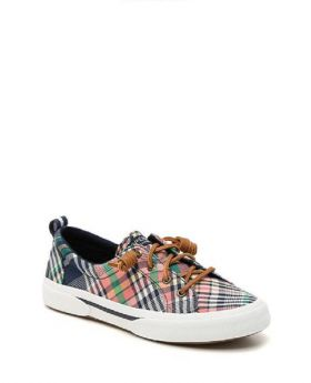Sperry_Women's_Crest_Vibe_Washed_Plaid_Sneaker_8.5