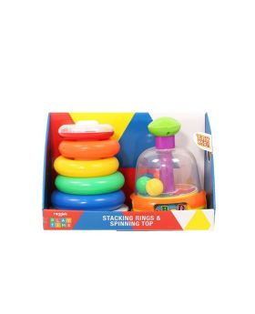 Spinning and Stacking Toy