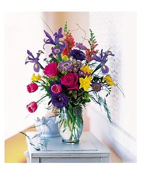 Spirited Spring Floral Arrangement