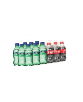 Sprite & Coca Cola 355ml Mixed 24 Case