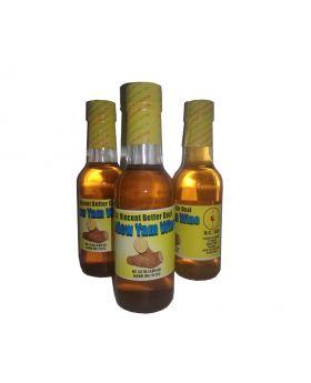 St.Vincent Better Deal Yellow Yam wine 4.8 oz glass bottle x 24