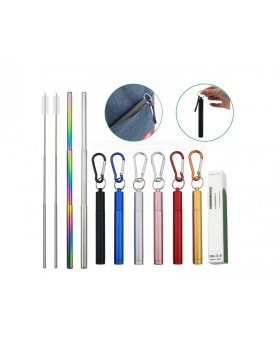 Stainless Steel Collapsible Straw