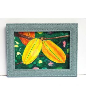 Star Fruit Creative Drawing Framed