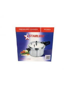 Starline PC5501 22CM Aluminum 5.5 Liter Pressure Cooker in box