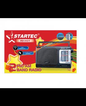 Startec RD 3021 2 FM/ AM High Sensitivity Band Radio With AC Power Supply 110V / 50 Hz