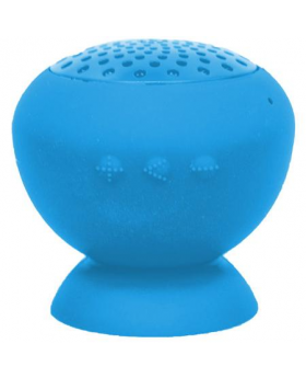 Stick Up Water Resistant Bluetooth Blue Speaker