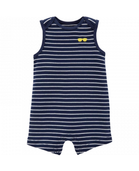Carter's Striped Tank Romper