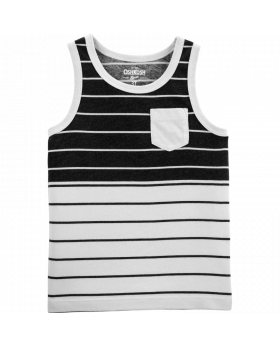 Oshkosh Striped Pocket Tank