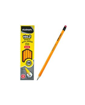 Studmark #2 Pencils with Eraser 12 pack