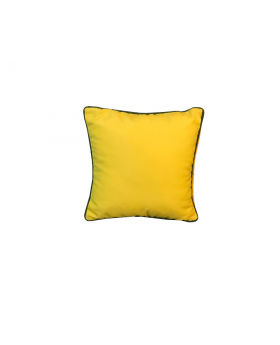 "Subrella Modern Yellow Decor 16"" x 16"" Cushion Cover For Sofa, Bed Or Patio"