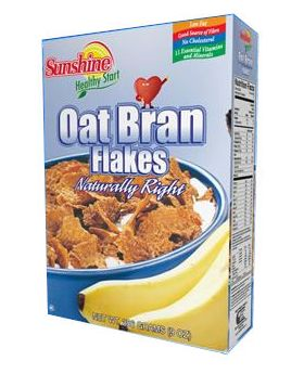Sunshine Healthy Start Oat Bran Flakes 256 g